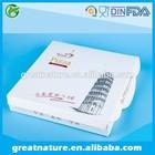 Custom white pizza boxes