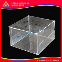 portable and standard hard plastic tea packaging seasonal folding printing PVC box