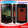 Land Rover S600 waterproof smartphone IP68 Grade Waterproof with walkie talkie and SOS function