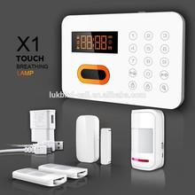 2014 High quality Intelligent Home Appliances Controlling PSTN Keypads Burglar Alarm System (KR-X1)