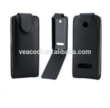 PU Flip Leather Case for Nokia 301