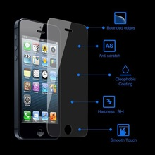 0.3mm Premium Explosion Proof Tempered Glass Screen Protector For iPhone 5 5S