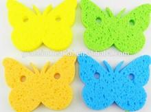 New Designed Cute Animal Shaped cellulose Bath Sponge