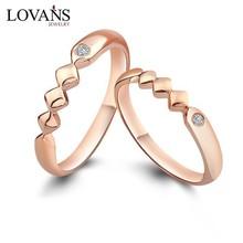 Unique Design Gold Wedding Ring Ladies And Men Finger Ring