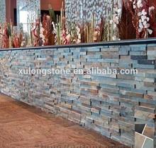 Cultured Stone Veneer, Slate Ledge Stone Walling,China Multicolor Slate Ledgestone