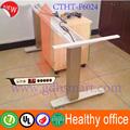 Prevenção de doenças da coluna vertebral& inteligente e ergonómico stand up secretária& saudável armação de metal ajustável