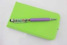 Fancy pen with crystal, touch pen for phones tablets