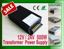 China manufacturer led power adapter transformer driver 220v 230V 240V to 24v 20A 500w