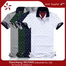 Men's short sleeve polo shirts OEM branded men polo shirt classic collar men polo T shirt