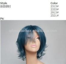 Top Quality Cheap Heat Resistant Gray Hair Women Wigs