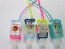 stylish Christma santa antibacterial gel perfume bottle cover for women
