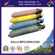 (CS-RC3300) compatible toner cartridge for Ricoh Aficio MPC2800 MPC3300 MPC 2800 3300 841124 - 841127 kcmy 20k/15k