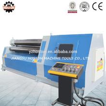 Hoston W12 Series aluminium sheet rolling mill machine,sheet metal cone rolling