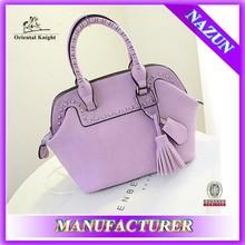 Trend leather handbag hot sell lady office bag fancy bag fashion lady bag