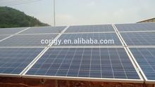 Ground Solar mounting system ,solar ground pile or ram mounting system,100kw /250kw /500kw solar system