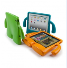 TV Style Rubber Shockproof Heavy Duty Tough Defender Stand Case Cover for ipad