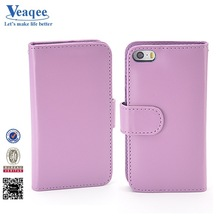Veaqee New mobile new 2014 cotton fabric jean leather case for iphone 5s
