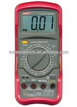 Ut54 eléctrica estándar dmm multimeters digital w/prueba de frecuencia multimetro medidor lcr amperímetro de multitester analógica
