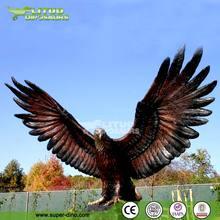 Fiberglass Life Size Eagle Sculpture