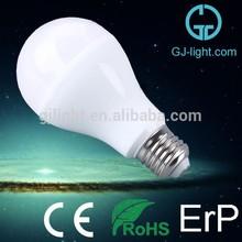 flameless natural white 8w 9w led bulb 180 degree