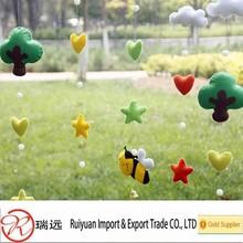 Alibaba new products!!!Handmade Felt animal gift craft for decoration