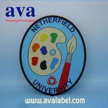 AVA clothing patches overlocked edges