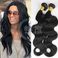 22&24 inch 2pcs/lot wholesale 100% raw weave body wave peruvian virgin hair unprocessed peruvian remy body wave hair weave