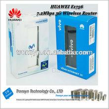 Hot Sale Original Unlock 7.2Mbps HUAWEI E1756 3G HSDPA USB Dongle And 3G USB Data Card