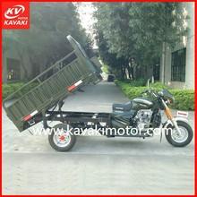 Heavy Duty 250cc Water Cooled Lifan Locin Zongshen Engine 3-Wheel Cargo Motorcycle