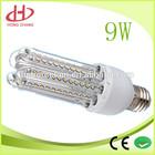 Hot Sale U shape 9w led bulb e27 LED Corn Light