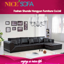 Modern style living room leather sofa home furniture A863L