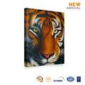 ธรรมชาติผนังที่ทันสมัยแขวนออกแบบภาพวาดสีน้ำมันบนผืนผ้าใบเสือ
