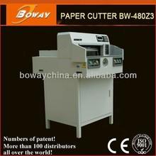 National Standard Drafter boway 480z3 programmed a4 guillotine paper edge cutter