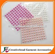 fashion design colorful acrylic rhinestone sticker crystals heart gems sticker