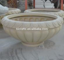 Resin garden planters urns fiberglass stone concrete planter antique design