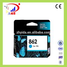100% Original ink cartridge For HP862(C) use for hp B210a 5510 6510 7510 C410D printer