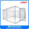 large welded panel wood animal dog cage