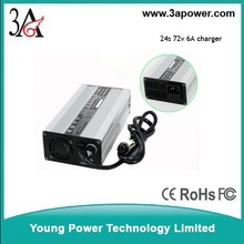 24s 72v 87.6v 6A Lithium iron phosphate battery charger intelligent battery charger electric bicycle chargers