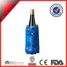 hot sale reusable PVC wine cooler bag
