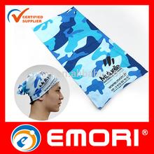 Customized microfiber tube scarf multifunctional seamless headwear