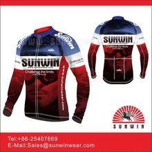 Bicycle race pattern pro zipper cycling jersey shirt