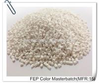 White Masterbatch Polymer Plastic