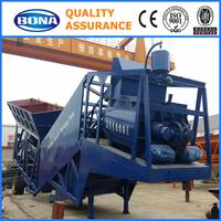 Mobile construction simple concrete batch plant manufacturer