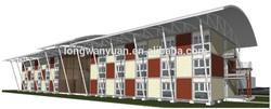 Prefab economical container apartment