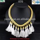 smart choice best service braided silk cord necklace