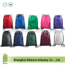 Customised Nylon Drawstring Bag / Library Bag/Gym Sack