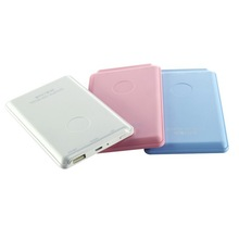 Square credit card power bank ,polymer power bank ,wallet mobile power