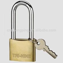 38MM Medium Thick Type Brass Padlock Long Shackle,candado,cadenas,cadeado