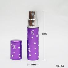 5ml Empty Aluminum Pen with Spray Perfume Bottle