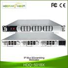 IP based digital multiplexer scrambler DVB C QAM Modulator